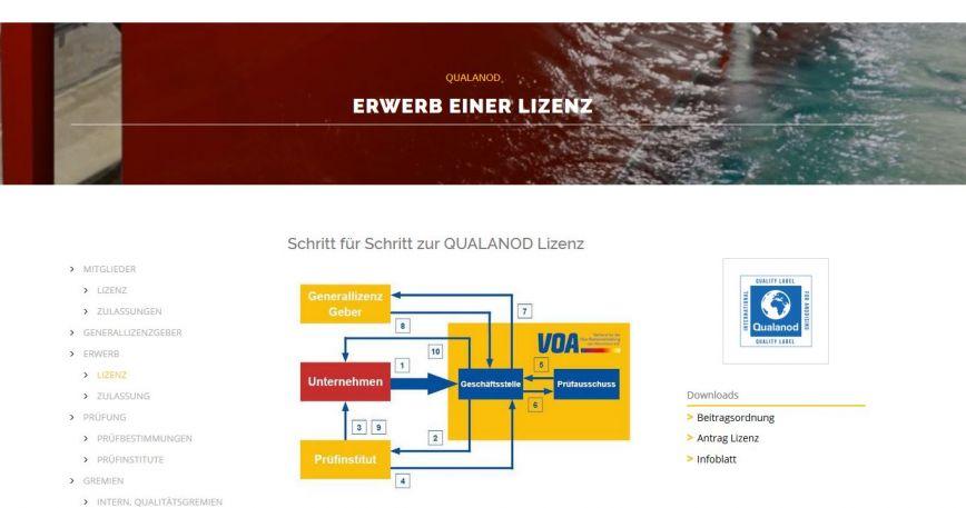 neue VOA Homepage