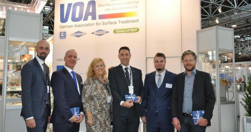 Geschäftsführerin mit VOA Referenten